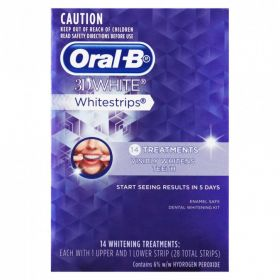 Oral-B 3D White Whitestrips 14 Whitening Treatments