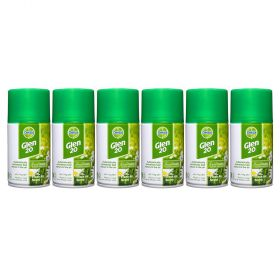 6 x Dettol Glen 20 Fresh Air Scent Automatic Refill 174g