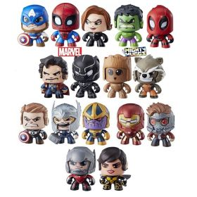 6 x Marvel Mighty Muggs (6 Figures Pack)