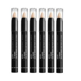 6 X NYX Lip Primer  LPR01 Nude