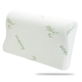 Contour Bamboo Memory Foam Pillow