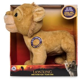 Disney The Lion King Simba Interactive Feature Plush