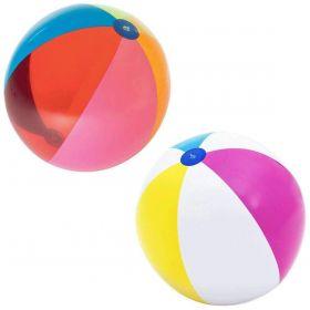 Bestway 152cm Giant Multicoloured Beach Ball 2pk