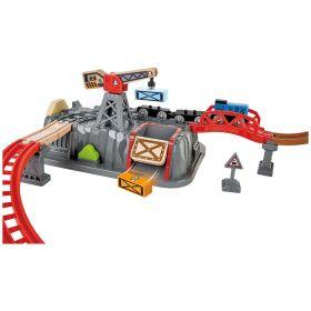 Hape Railway Bucket Builder Train Set