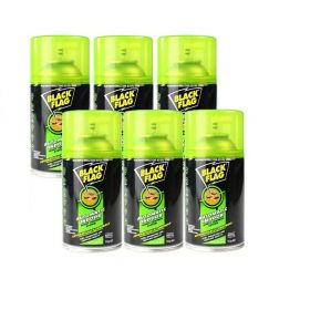 6 x Black Flag Automatic Indoor Insect Control System Refill 152g