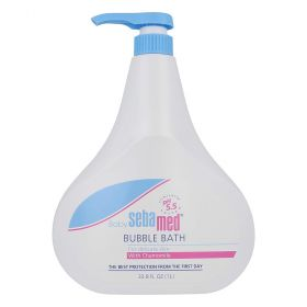 Sebamed 1 Litre Baby Bubble Bath No Tears Skin Wash