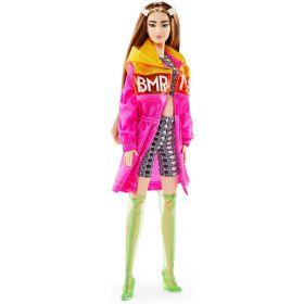 Barbie BMR1959 Doll Colour Block Windbreaker, Bike Shorts and Vinyl Boots