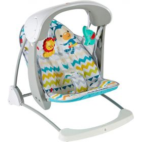 Fisher Price Carnival Take Along Swing & Seat
