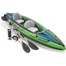 Intex Challenger K2 Kayak 2 Person Inflatable Kayak