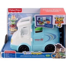 Fisher Price Little People Disney Toy Story 4 RV Playset
