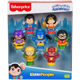 Fisher Price DC Super Friends Figure Pack by Little People