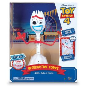 "Disney Pixar Toy Story 4 Interactive Forky Walks, Talks and Dances (10"")"