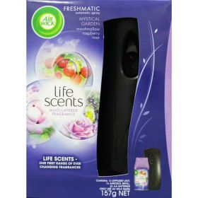Airwick Life Scents Mystical Garden Freshmatic Refill 157g and Diffuser