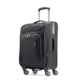 American Tourister Zoom 21 Spinner Carry-On Luggage Black