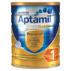 Aptamil Gold+ Baby Formula Stage 1 0-6 Months 900G