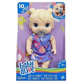 Baby Alive Baby Lil Sounds with Blonde Hair