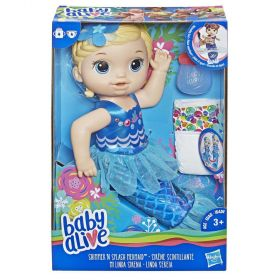 Baby Alive Shimmer n Splash Mermaid - Blonde Girl