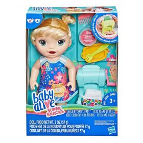 Baby Alive Snackin' Shapes Baby Blonde