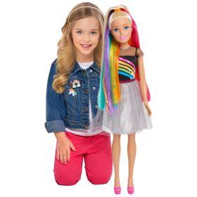 Barbie Rainbow Sparkle Best Fashion Friend Doll 28 inch