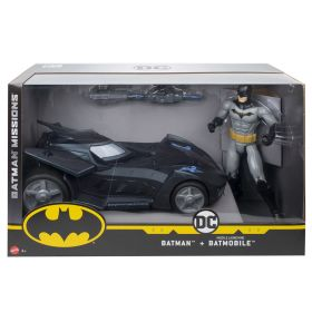 Batman Missions Missile Launching Batman + Batmobile