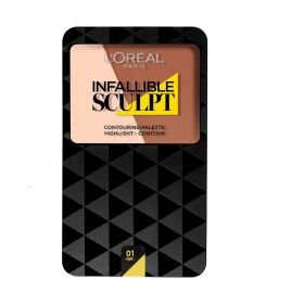 Loreal Infallible Sculpt Contour Palette Light/Medium 10g