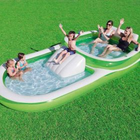 Bestway H2OGO 2 in 1 Dual Pool Family Pool Slide
