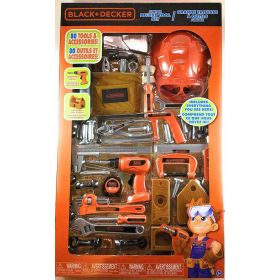 Black and Decker Junior Deluxe 80 Piece Tool Set