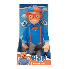 Blippi My Buddy Blippi Feature Plush Figure 16 inches