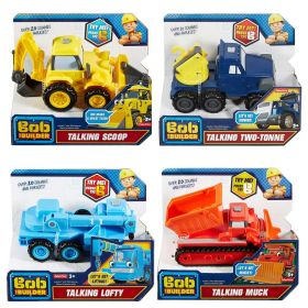 Bob The Builder Talking Friends vehicles 3 Pack