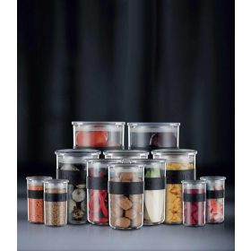 Bodum Presso 12 Piece Storage Jar Set