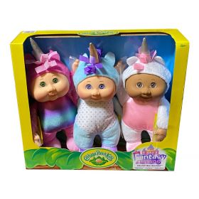 Cabbage Patch Kids Unicorn Friends Collectibles 3 Pack