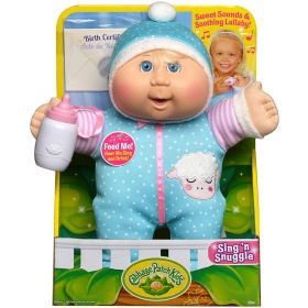 Cabbage Patch Kids Deluxe Sing N' Snuggle - Blonde/Blue Eyes