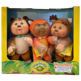 Cabbage Patch Kids Woodland Friends Collectibles 3 Pack