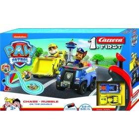Carrera Paw Patrol on The Double Slot Car Set 2.9M Track