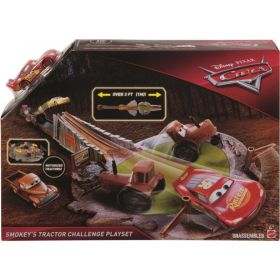 Cars 3 Smokey's Tractor Challenge Playset