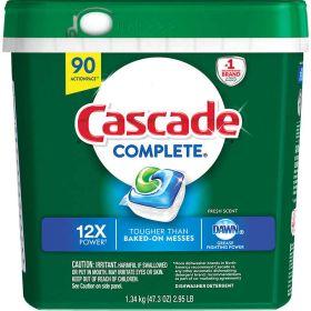 Cascade Complete Dishwasher 90 Detergent Tablets