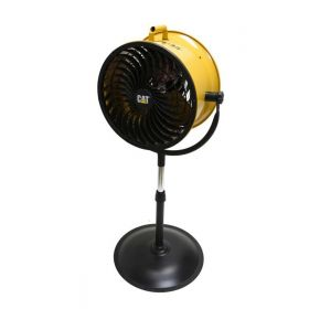 Cat Caterpillar High Velocity Pedestal Drum Air Circulator Fan HVPD14AC