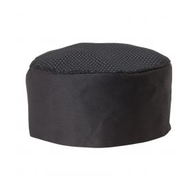 3 x Chef's King Vented Black Color Cap