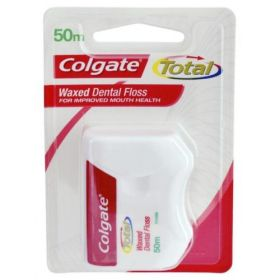 Colgate Waxed Dental Floss 50m