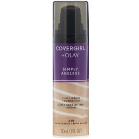 Covergirl 30mL OLAY 3-IN-1 Foundation Simply Ageless 240 Natural Beige