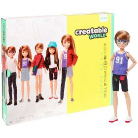 Creatable World Deluxe Character Kit Customizable Doll