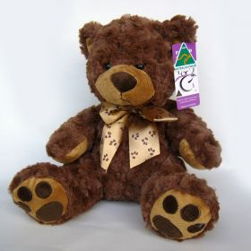 Cuddly Curly Teddy Bear Soft Plush Toy