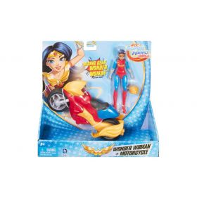 DC Super Hero Girls Wonder Woman Motorcycle and Doll