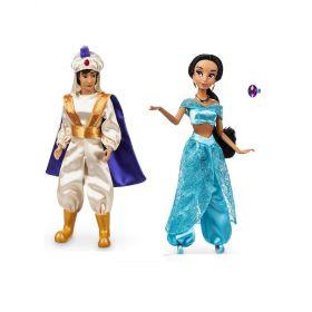 """Aladdin And Jasmine 12"""" Doll Set"""