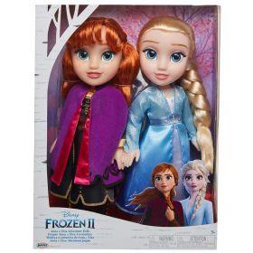 Disney Frozen 2 Adventure Dolls Anna And Elsa