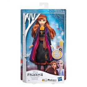 Disney Frozen 2 Anna Magical Swirling Adventure Light Up Fashion Doll