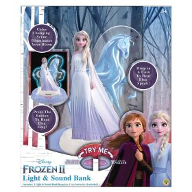 Disney Frozen 2 Elsa Light and Sound Coin Bank