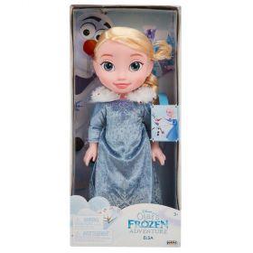 Disney Frozen Olaf's Frozen Adventure Elsa Doll 14-inch