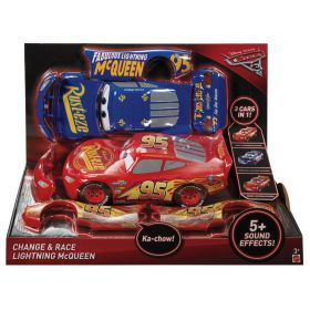 Disney Pixar Cars 3 Change and Race Vehicle Lightning McQueen