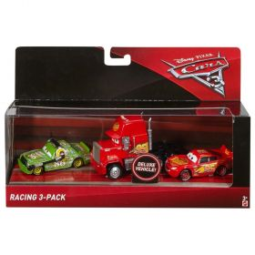 Disney Pixar Cars 3 Deluxe Vehicle 3 Pack